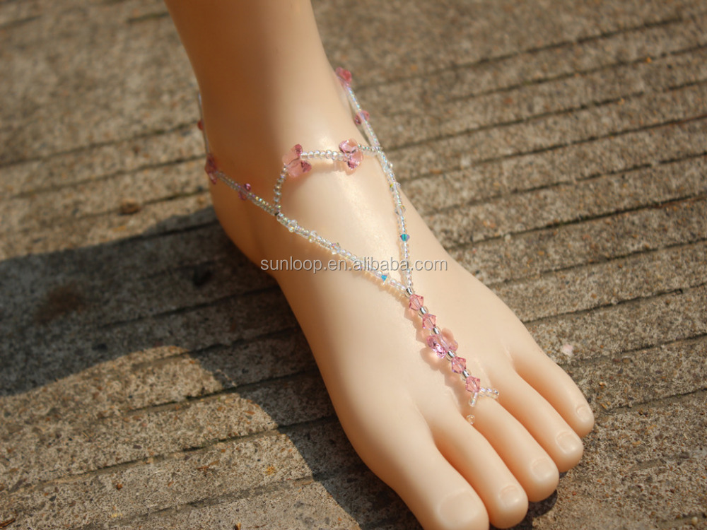 new desinger slave toe ring barefoot sandals