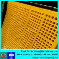 combine sieve panel , polyether polyurethane rubber sheet , corrosion resistant screen