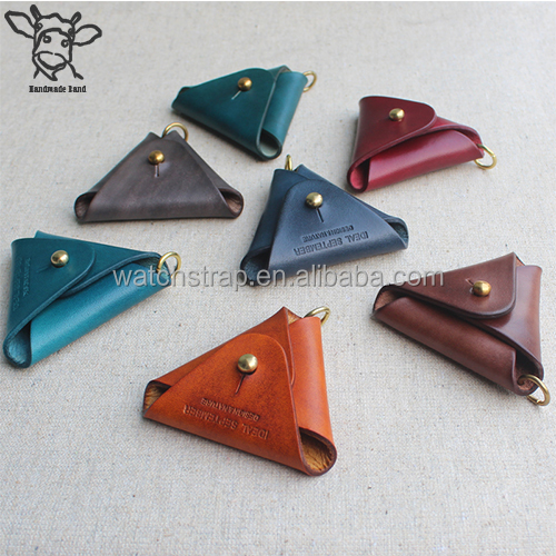 Handmade Band wholesale handmade key holder leather keyring custom leather keychain