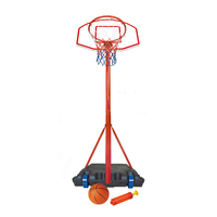 Lifetime Sport Toy Plastic Basketball Stand Portable for Children with a Basketball and Inflator Portable Basketball Hoop System