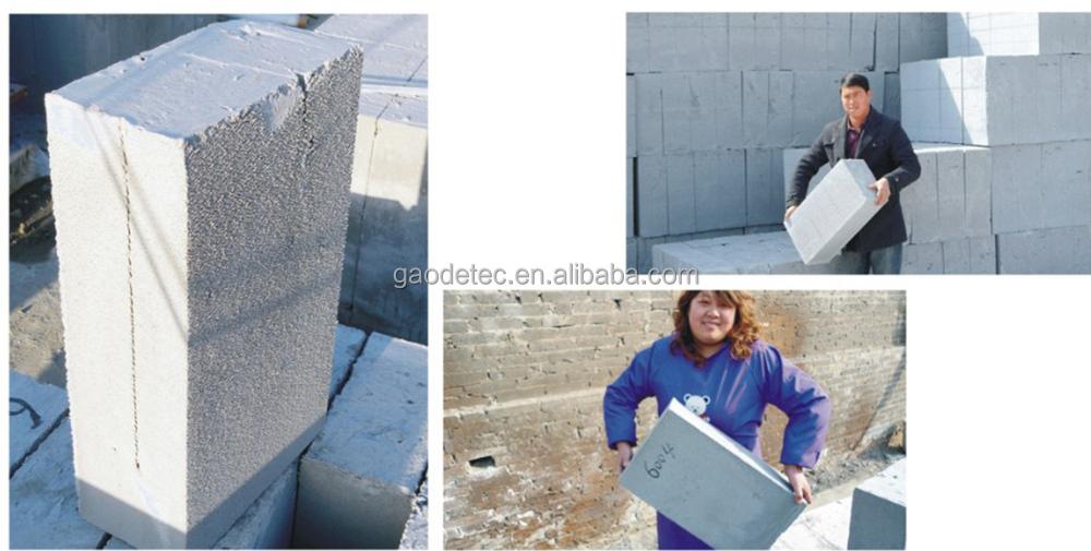 Lightweight Foam Concrete Block Machine Automatic Clc