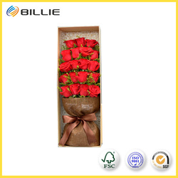 100% Quality Assurance of Round Flowers Boxes