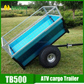 auto transport trailer for garden and farm