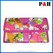 French Top Design 2013 New trendy PVC cosmetic bags women make up brush holder original cosmetics packaging