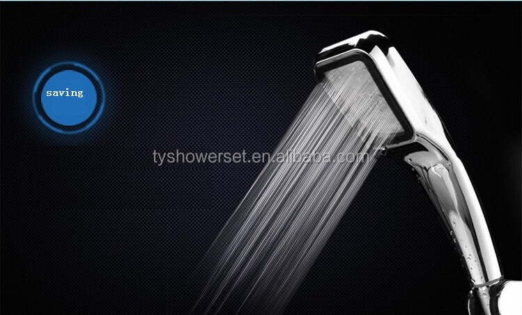 Shower Head for Dry Skin & Hair High Pressure Water Saving Ionic Handheld Showerhead 300 Holes