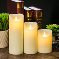 Hot Hand make decoration candle Ivory wax Paraffin candle led candle Moving flame