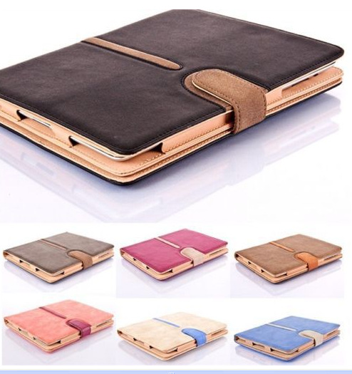 Tablet PC Case for ipad air 2 tablet multifunction leather case for Apple ipad 5 6 for ipad2 3 4 5 6 Sleep Wake Holster