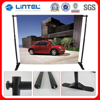 Adjustable folding portable tradeshow event backdrop stand, photo booth backdrop,trade show wall