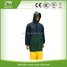 Frosty PVC outdoor hooded jacket for hiking climbing sports