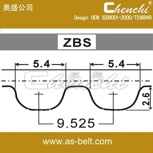 143ZBS30 auto genuine spare part CR,EPDM 139RU19 v belt auto rubber timing belt