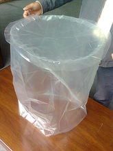 round bottom plastic bag transparent for ling