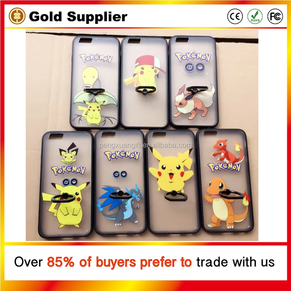 2016 Hot Sell Pokemon Case Factory Directly Pokemon Phone Case Top Quality Pokemon Go Case