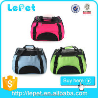 Custom logo wholesale Oxgord Soft-Sided cheap soft dog crate/portable dog carrier