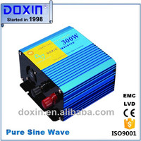 CE ISO9001:2008 300w delta inverter solar pure sine wave for air pump