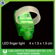 Wholesale Cheap Price Flashing Finger Ring LED Light Toy For Kids Gifts