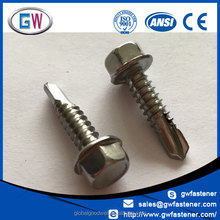 A2-70 A4-70 316 Stainless Steel Self Drilling Screw Din7504k