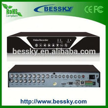 2015 p2p nube cctv dvr con doble sd card