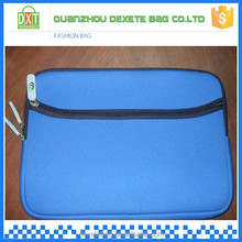 High quality blue wholesale promotion neoprene laptop sleeve