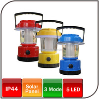 Emergency outdoor portable led solar camping lantern with charger led lamp solar lamp