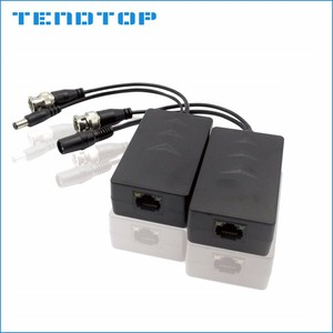 HD CVI AHD TVI UTP video power balun with Ground loop isolator