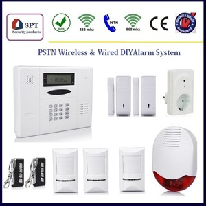 CP-11A addressable burglar alarm system, intruder alarm