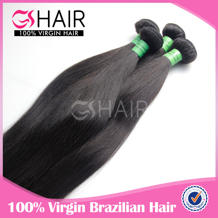 28 inch virgin remy brazilian hair weft