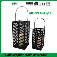 Good quality modern new design hanging daily use decorative metal lanterns candle holder