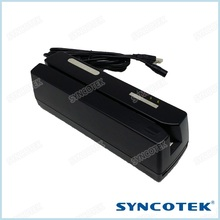 SYNCOTEK Mini 123 Card Writer USB MSR Smart Chip Card Reader