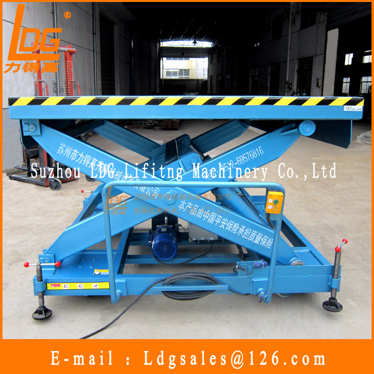 2.5tons 900mm hydraulic goods elevator with SJY4-1.6