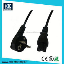 kema keur eu 3 pin plug Euro power cord/European VDE power cord