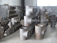 A234 WPB sch 80 carbon steel reducing tee (skype: rachel91152, tlfitting04@hotmail.com)