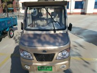 electric solar mini cargo tricycle for passenger