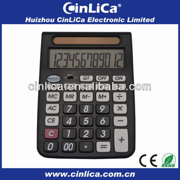 Electronic Calculator With Mu Function For Accountant