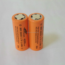 E-Cig original imr 18650 battery rechargeable li ion 26650 4500mah 30A high discharge rate cells