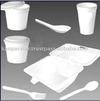 Disposable Thermocol Plates Glass
