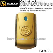 RFID09 cabinet lock for locker/door/cabine showed in the 2nd China(Zhongshan) International Lock Expro Fair on Apr.16th-18th