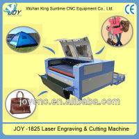 various leather cloth JOY 1825 Laser Engraving and Cutting Machine,another work size 450/640/960 /1325/1318/1610