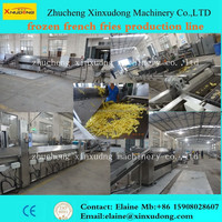 CE certificate best quality frozen french fries production line for sale