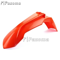 Pazoma Orange Motorcycle Front Fender Mudguard Motocross MX For KTM 350 SX-F 250 SX-F 250 SX 13-15