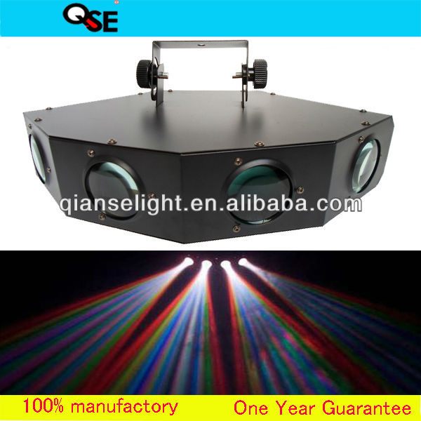4 Head Color Strobe Effect LED Disco/DJ Dance Club Stage Light