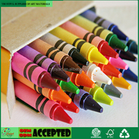 Scented wax crayons 24 brillant colors for kids children Inspiration Art
