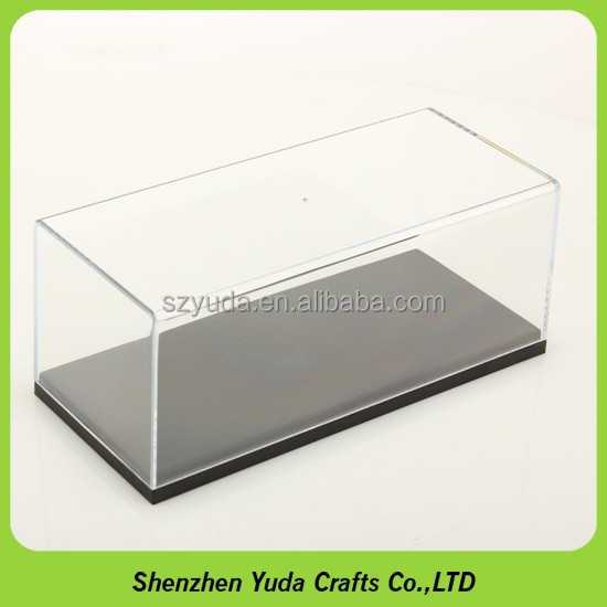 Model display clear box diecast model car display cases