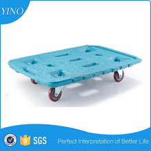 Turntable Platform Truck Hand Cart Trolley Heavy Duty 150kg Capacity Warehouse TB150
