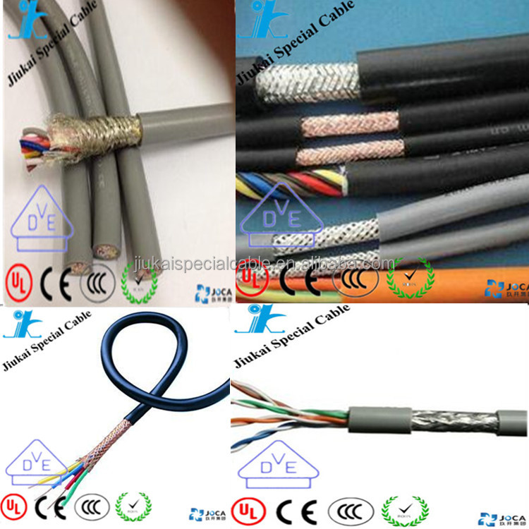 VDE certificated H05VVC4V5-K stranded tinned copper elevator cable control cable
