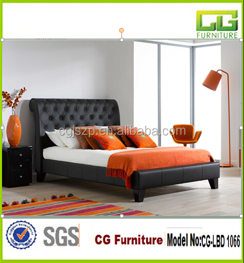 Upholstered Bedroom Collection cow king size bed CG-LBD 1066