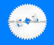 Low cost customized cnc machining plastic gear manufacturer in China
