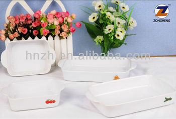 wholesale vegetables custom logo decal white glaze stoneware ceramic dishes