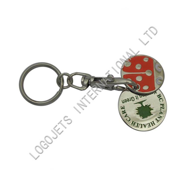 Wholesale cheap soft PVC rubber key ring, keychain