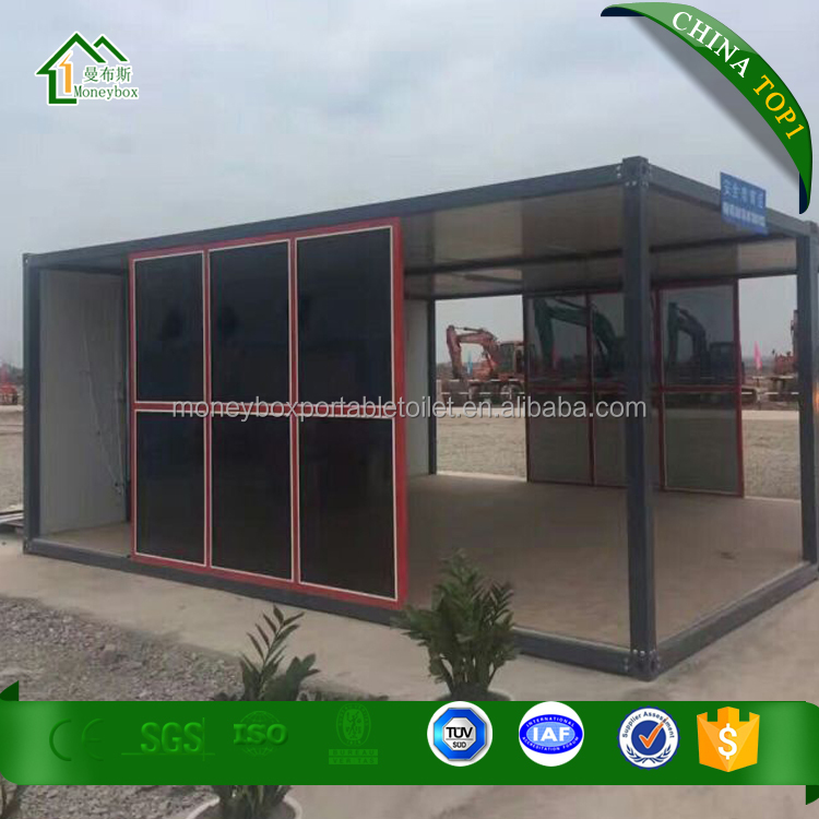 Professional Low cost 40ft fully furnished container home/hotel/office/sentry box/guard house