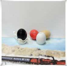 Square Ceramic Salt & Pepper Shakers (Set of 2),ceramic salt and pepper shaker